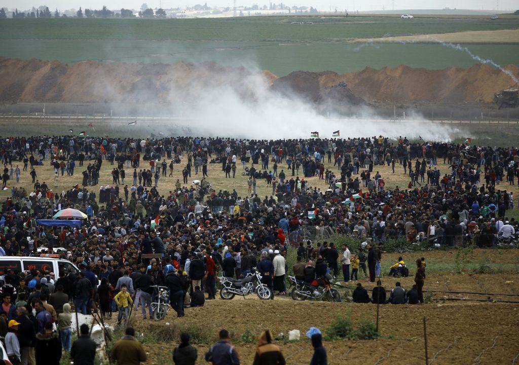Confronto com Exército de Israel na fronteira de Gaza deixa 7 palestinos mortos e fere centenas