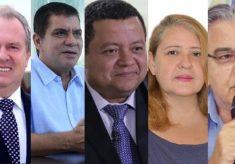 Candidatos ao governo do TO confirmam presenças em debate na TV; Carlesse viaja a SP