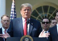 """Trump provoca repórter em entrevista: """"Sei que você não está pensando. Você nunca pensa"""" Comente"""