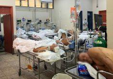 Vistoria da DPE encontra, na Sala Vermelha do HGP, 19 pacientes que deveriam estar na UTI e UCI